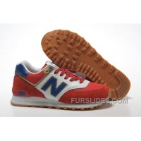 New Balance 574 2016 Men Red Cheap To Buy 210981