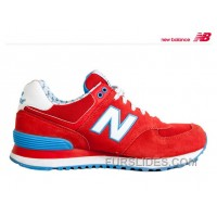 New Balance 574 2016 Men Red Cheap To Buy