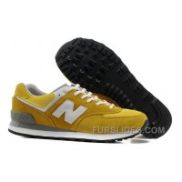 New Balance 574 2016 Men Yellow Christmas Deals