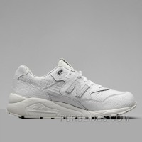 2016 New Balance 580 Men All White Free Shipping