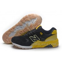 2016 New Balance 580 Men Black Yellow Super Deals