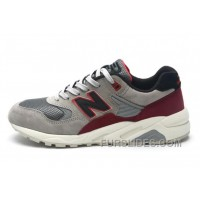 2016 New Balance 580 Men Grey Red Discount