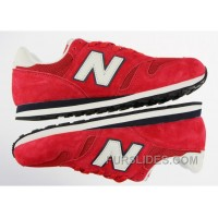 New Balance 373 Men Red Authentic