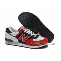 New Balance 576 Men Black Red Discount