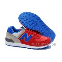 New Balance 576 Men Red Grey Discount