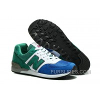 New Balance 576 Men White Green Blue Discount