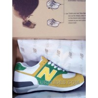 New Balance 576 Men Yellow Green Discount
