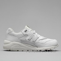 New Balance 580 Men All White Authentic