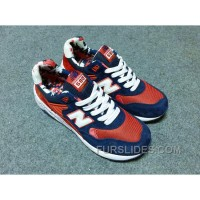 New Balance 580 Men Blue Red Cheap To Buy