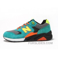 New Balance 580 Men Green Orange Super Deals