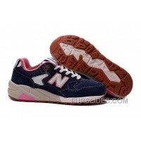 New Balance 580 Men Navy Blue Authentic