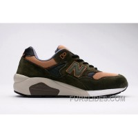 New Balance 580 Men Olive Discount