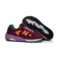 New Balance 580 Men Wine Red Cheap To Buy