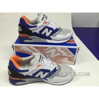 New Balance 878 Men Blue White Cheap To Buy
