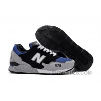 New Balance 878 Men Grey Black Discount