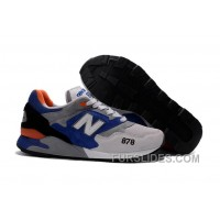 New Balance 878 Men Grey Blue Super Deals