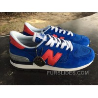 New Balance 990 Men Blue Free Shipping