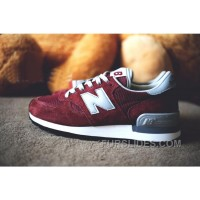 New Balance 990 Men Red Authentic