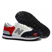 New Balance 990 Men White Red Christmas Deals