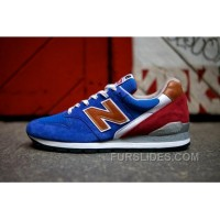 New Balance 996 Men Blue Red Free Shipping