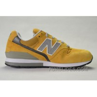 New Balance 996 Men Yellow Christmas Deals