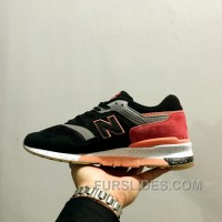 New Balance 997 Men Balck Red For Sale