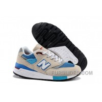 Cheap To Buy New Balance 998 Men Beige Blue W7G4f