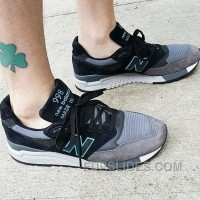 Lastest New Balance 998 Men Black Grey SPamx