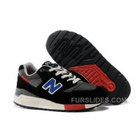 Christmas Deals New Balance 998 Men Black RmHjYA