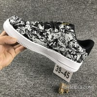 Nike Air Force 1 AF1 UPSTEP LOW BHM 920788 Zebra Shoes Copuon Code