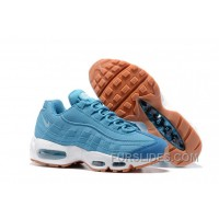 Nike Air Max 95 2017 Spring New Blue Women Best
