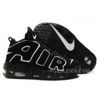Cheap Nike Air More Uptempo Black/Black-White For Sale Free Shipping G7jEA7