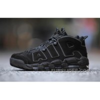 Nike Air More Uptempo AIR Triple Black 3M 414962-004 Women/men For Sale
