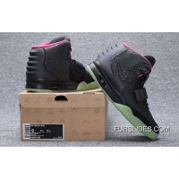 NIKE AIR YEEZY 2 NRG Black Pink 508214-006 Authentic
