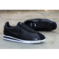 Nike Classic Cortez X LIBERTY Solid Black New Release