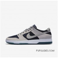 NIKE SB ZOOM DUNK LOW ELITE 864345-004 Women Mens Dark Blue/Black/White Grey New Release