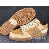 Nike SB Dunk Low QS Wheat 883232-700 Women Men Lastest