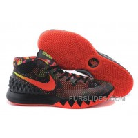 Nike Kyrie 1 Dream Black/White-Bright Crimson-Anthracite Authentic BGN5Dxp