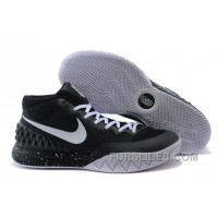 Authentic Nike Kyrie 1 Black And White N7FDTB
