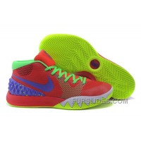 Christmas Deals Nike Kyrie 1 Red Fluorescent Green GBSNQ