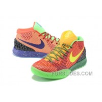 Nike Kyrie 1 Grade School Shoes Mandarin Duck For Sale