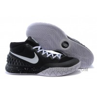 Nike Kyrie 1 Women Shoes Black White For Sale HbymAj