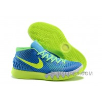 Nike Kyrie 1 Women Shoes Blue Green Free Shipping