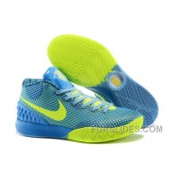 Nike Kyrie 1 Women Shoes Blue Yellow Online XpcHX