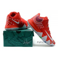 Nike Kyrie 4 Mens Basketball Shoes Red Online