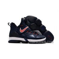 Nike LeBron 14 SBR Navy Blue Red Discount