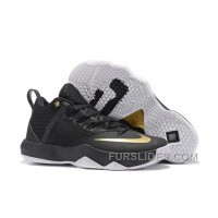 Nike Lebron Ambassador 9 Black Gold Men New Release