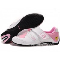 Women's Puma Baylee Future Cat II In White/Pink Online J6nHW