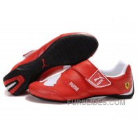 Women's Puma Baylee Future Cat II In Red/White Super Deals KGPpcp