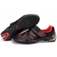 Women's Puma Baylee Future Cat II In Black/Red Discount TiM5thh